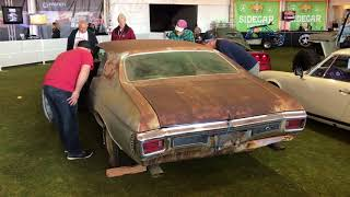 1970 Chevelle SS396 Barn Find On Display At Russo And Steele Auction 2017