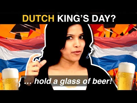 DUTCH KING'S DAY!  ...what do foreigners know about 'Koningsdag'? photo