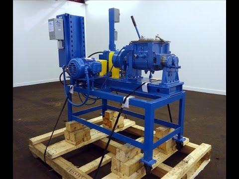Used- Aaron Process Company Inc Double Arm Lab Mixer - stock # 48156007
