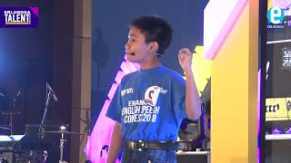Andi Safa Afianzar - Juara 2 Erlangga English Speech Contest 2018 SMP/MTs