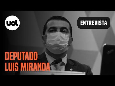 Luis Miranda fala do caso Covaxin e suspeita de prevaricação de Bolsonaro |UOL Entrevista (20/07/21)