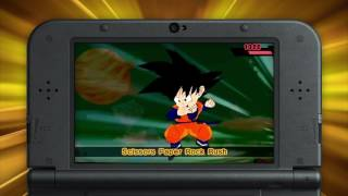 Dragon Ball Fusions get into the Battle System gameplay - 3DS