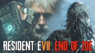 RESIDENT EVIL 7 End of Zoe DLC - Joe Vs Jack | All Jack Baker Boss Battles + Death Scenes width=