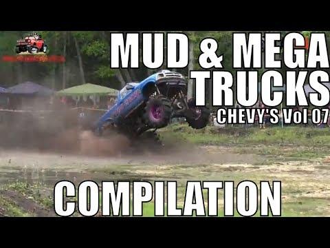 CHEVY MUD & MEGA TRUCK MUD COMPILATION 2018 VOL 07
