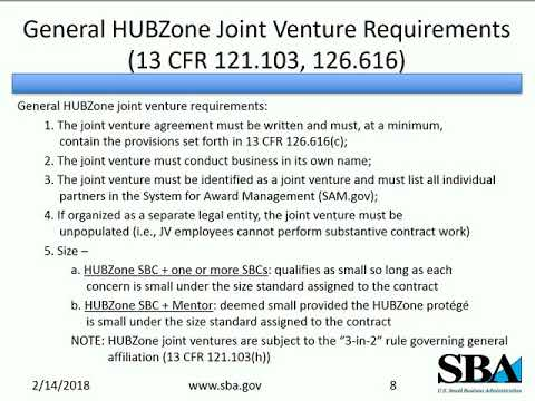 HUBZone Joint Ventures: How to Partner with Other Companies for HUBZone Contracts