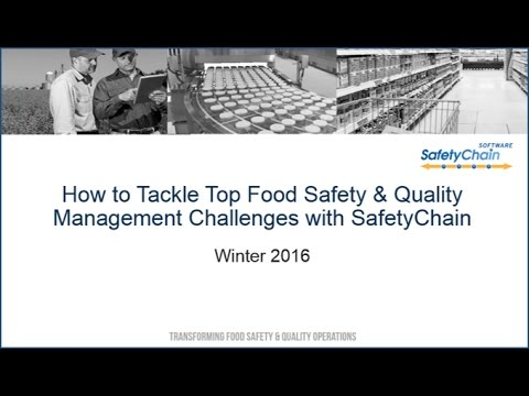 Tackling Top Food Safety & Quality Management Challenges with SafetyChain