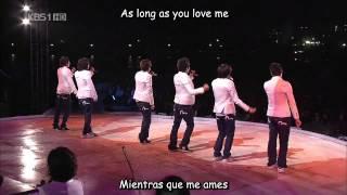 U-Kiss - As long as you love me (Ing-Sub esp)