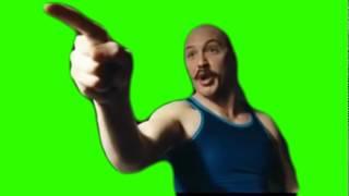 Shut the fuck up you cunt - Better green screen