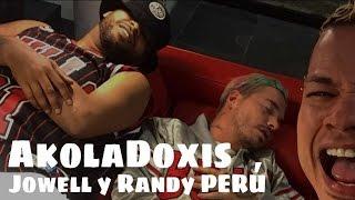 JOWELL Y RANDY con J BALVIN en el estudio para grabar BONITA de VIVA LA MUSIK | AkolaDoxis PERÚ