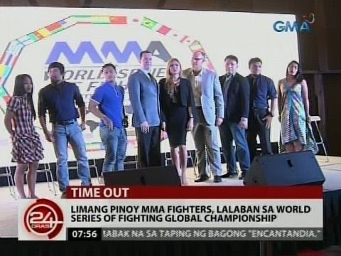 5 Pinoy MMA fighters, lalaban ...