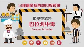 化學性危害 - 巴拉刈中毒