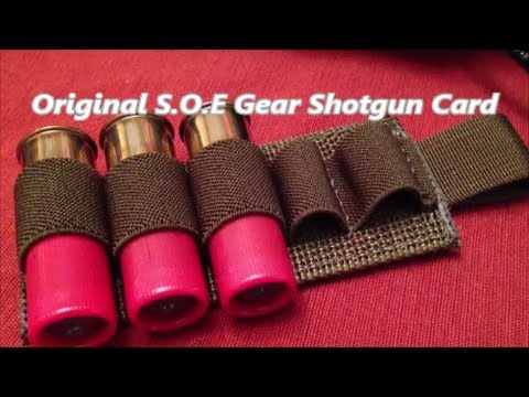Gear: S.O.E. Gear Shotgun Card