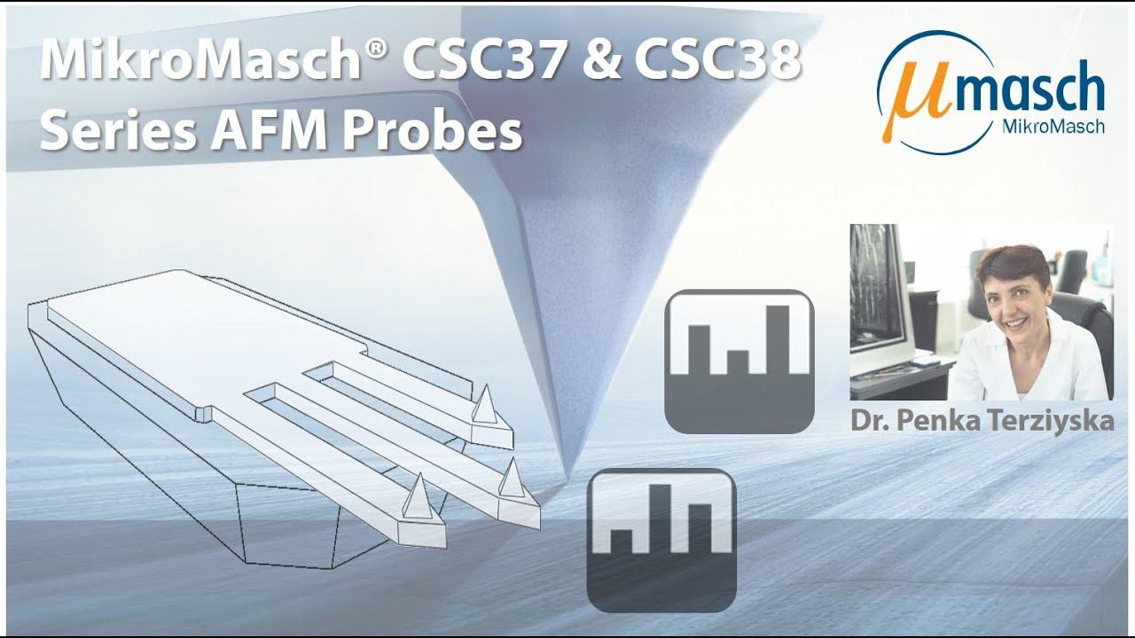 MikroMasch HQ Line HQ:CSC37 & HQ:CSC38 Probe Series thumb