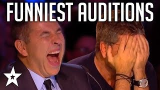 TOP 10 FUNNIEST Auditions And Moments EVER On Britain's Got Talent! | Got Talent Global