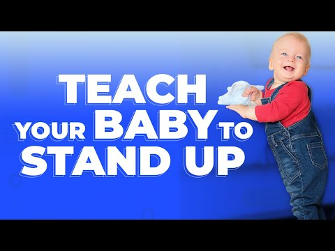 The Safest, Most Effective Way to Teach Your Baby to Stand