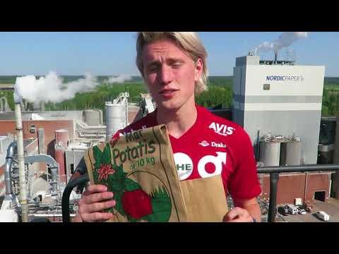 Vi söker kontinuerligt nya medarbetare. Under fyra avsnitt göra fyra fotbollsspelare från Degerfors IF ett gästspel och testar hur det är att jobba på pappersbruk. Kolla in Victor Götesson här! Skicka in en spontanansökan på www.nordic-paper.com