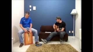 Unchain My Heart, Joe Cocker, acoustic cover (violão e cajón)