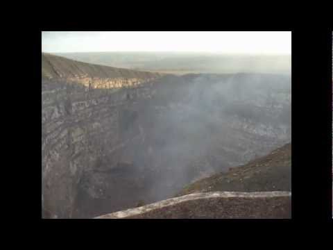 Masaya Volcano, Nicaragua – 360 degree panorama from the crater – February 2012