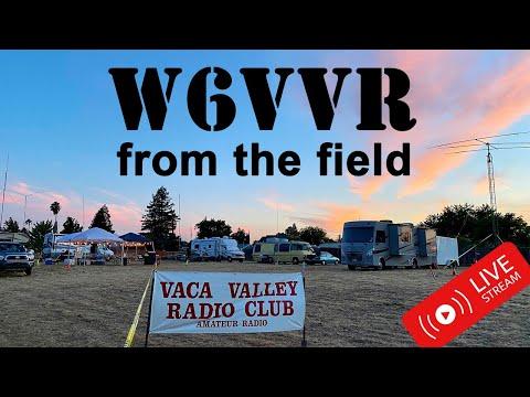 LIVE from W6VVR ARRL Field Day