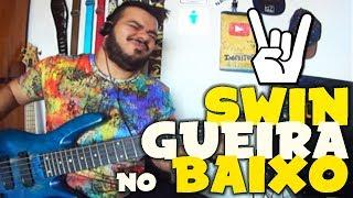 SWINGUEIRA NO BAIXO | LÉO SANTANA - VARIAS NOVINHAS (BASS COVER)