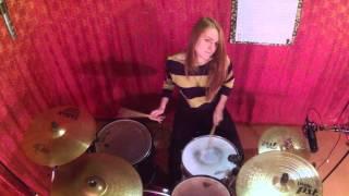 Arctic Monkeys - Fireside (Drum cover by Anastasia Lyasnikova)