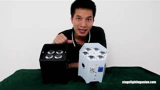 Battery Uplight | Up Light | Dj Gear | Wireless Uplight