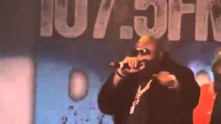 30. RELOADED!!!  Rick Ross perform in CHICAGO December 2012