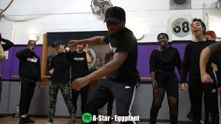 A-Star - Eggplant Afrobeat (Dance Video) by @unkletc