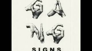 Sad Boy-Gang Signs