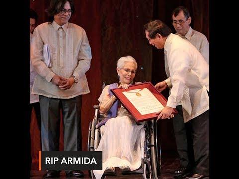 Actress Armida Siguion-Reyna dies at 88