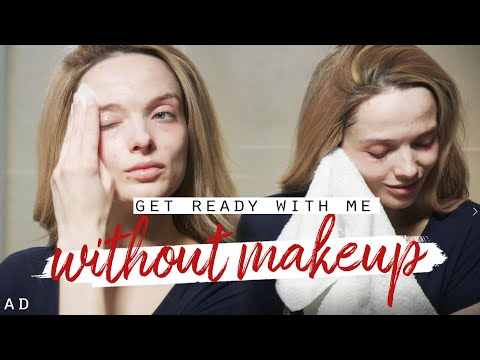 GET READY WITH ME - WITHOUT MAKEUP! // MyPaleSkin