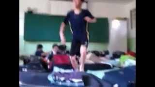 Dança no Alojamento