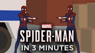 The Story of Marvel's Spider-Man in 3 Minutes (Animation)