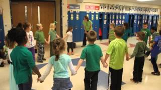 Irish Circle Dance on St. Patrick's Day