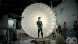 Justin Bieber's Photoshoot for GQ 2012 (Swaggy Adult ) Behind The Scenes