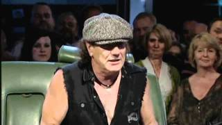 AC/DC Brian Johnson interview, Top Gear