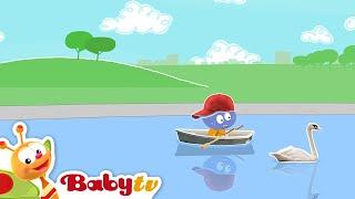 Fileira seu barco com Oliver, Mick e os cuddlies | BabyTV Português