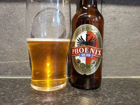 Phoenix Beer By Phoenix Beverages Limited | Mauritius Beer Review