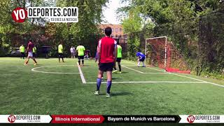 Bayern de Munich vs. Barcelona Final Illinois International Soccer Champions League