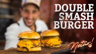 DOUBLE Smash Burger! | Netão! Bom Beef #56