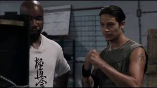 Case Walker(Michael Jai White) teaches on how to punch - Never Back Down 3
