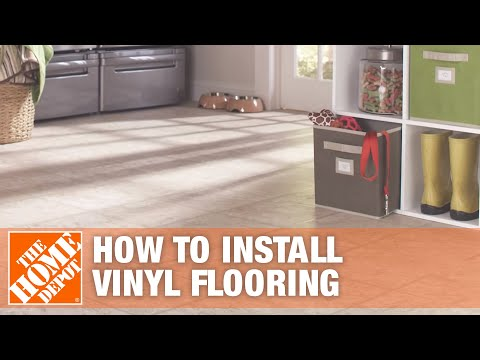How to Install Vinyl Flooring - The Home Depot