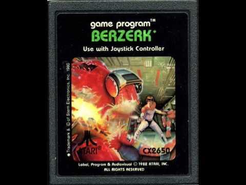 Pequeño análisis y gameplay de Berzerk (Atari 2600) - 1982 Dan Hitchens/Atari