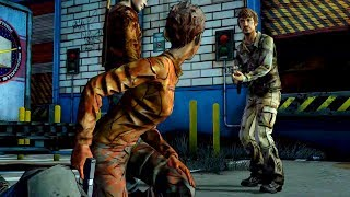 Jane Shoots Troy's Dick (Walking Dead | Death | Telltale Games)