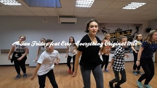 House beginners choreo by Beatrice / Ian Friday feat Erro - Everything (Original Mix)