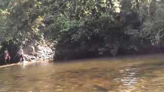 Travessia Riacho TR4 - Cachoeira Maria Augusta - São João Batista do Glória