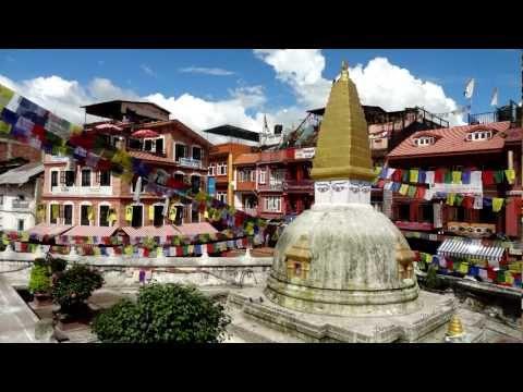 Kathmandu: A walk around Boudhanath Stupa, Kathmandu Nepal, Sept 2012