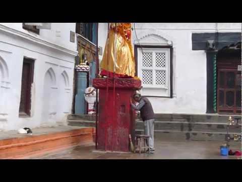Hanuman Statue Durbar Square Kathmandu Nepal 06