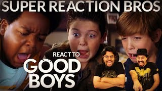 SRB Reacts to Good Boys Official Red Band Trailer