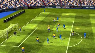 FIFA 14 iPhone/iPad - Razz FC vs. Arsenal